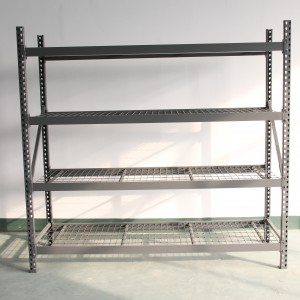 Medium duty teardrop racking