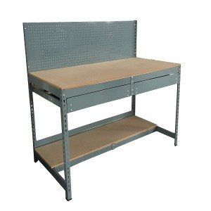 Steel panel shelving