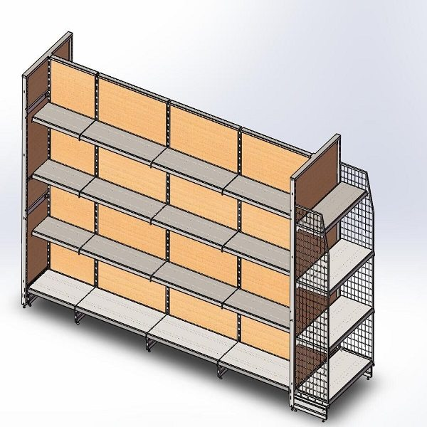 Timber shelving PPH35-18W Featured Image