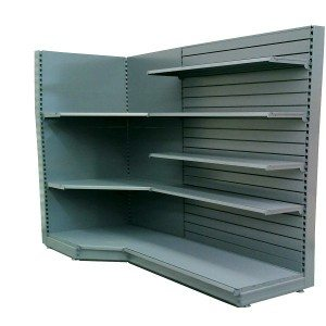 In-hoeke shelving