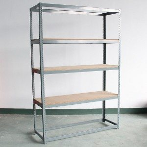 Clip-on shelving