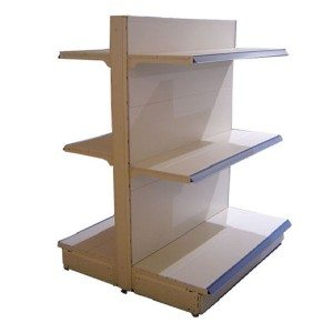Double ẹgbẹ shelving
