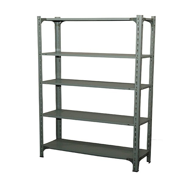 Angle post shelving