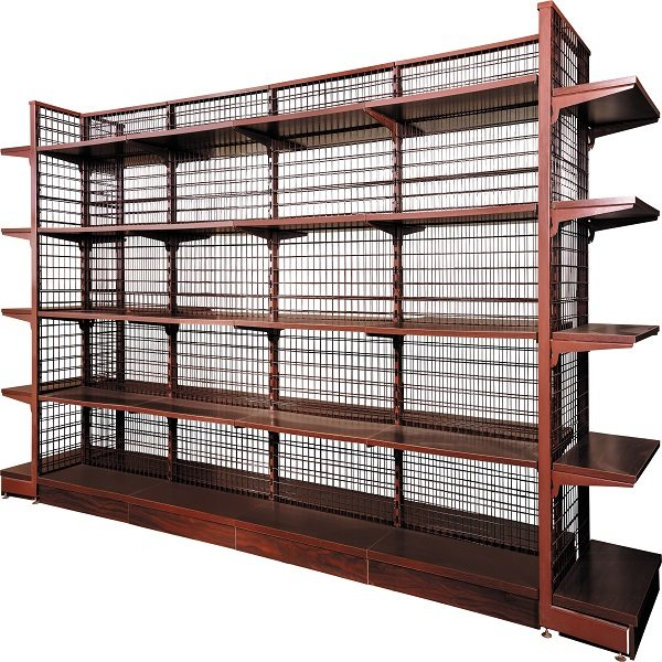 Timber shelves